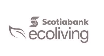 Scotiabank Ecoliving logo